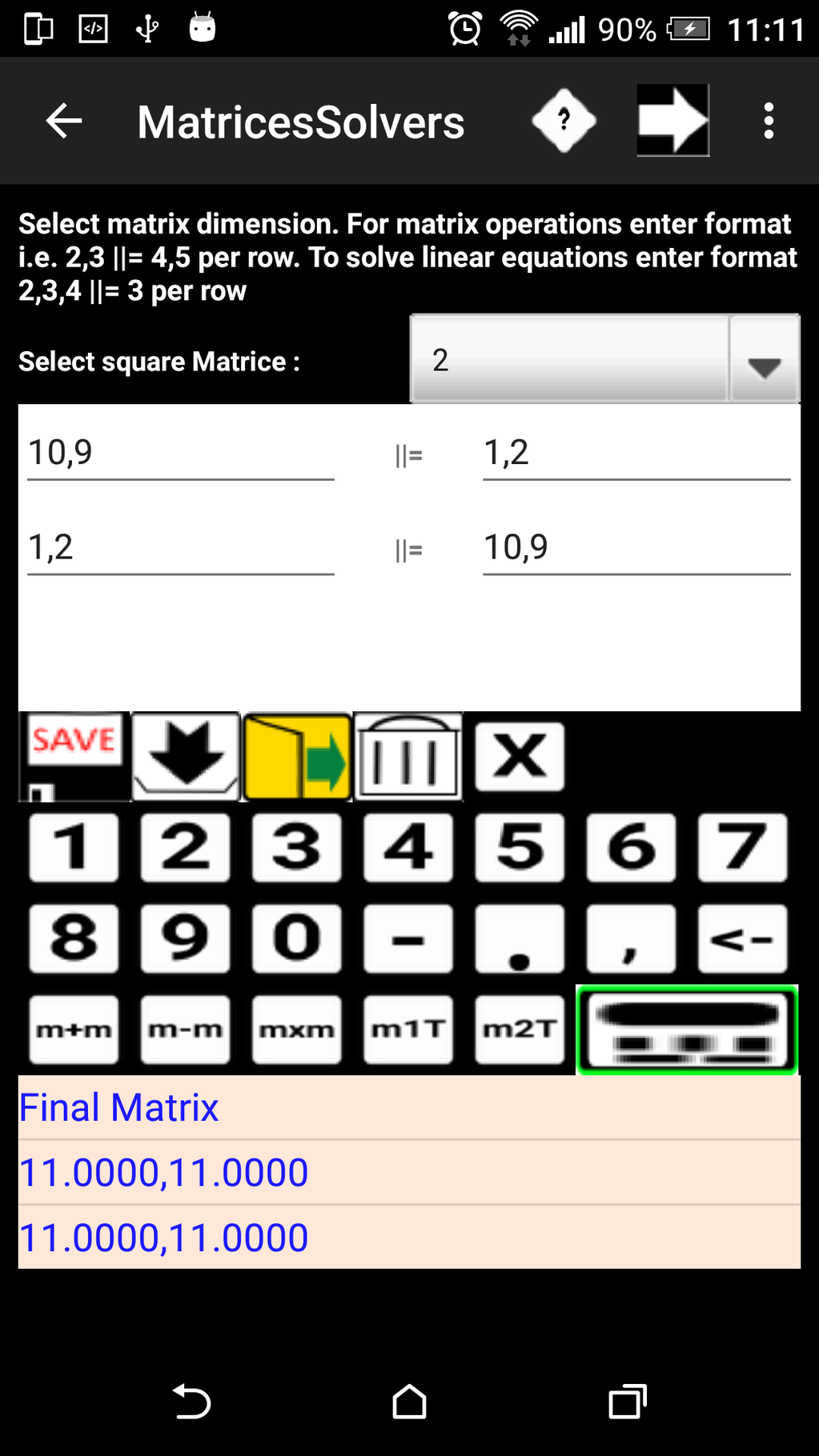 ChemMathsDroidfree Screenshot 9