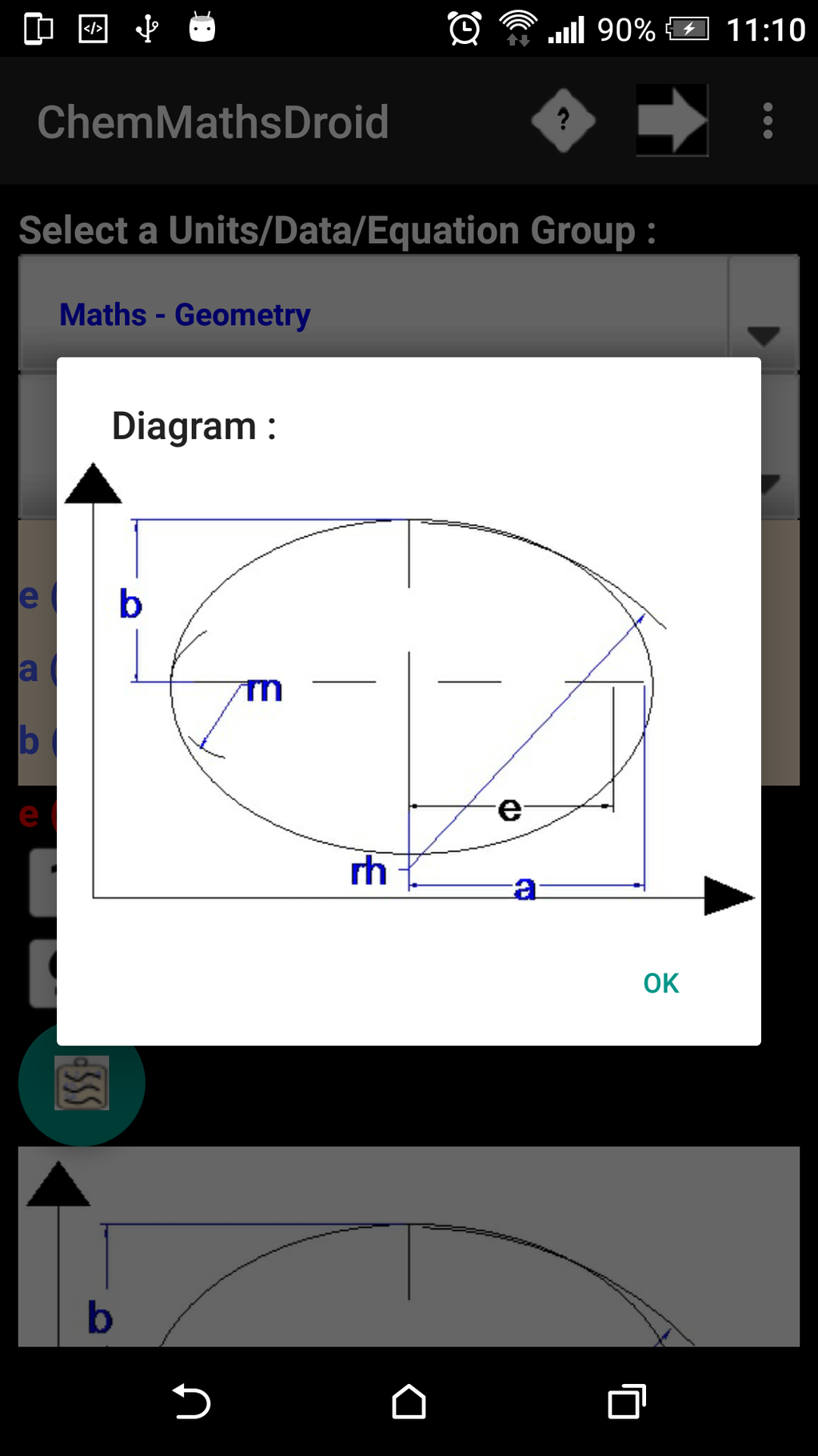 ChemMathsDroidfree Screenshot 8