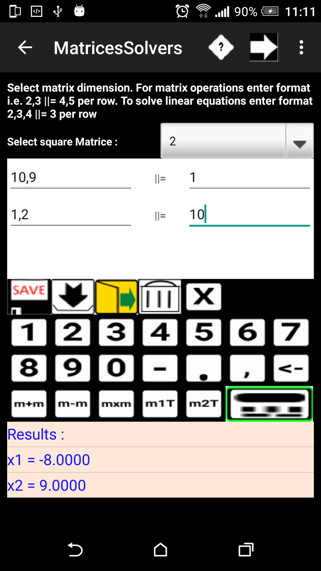 ChemMathsDroidfree Screenshot 10
