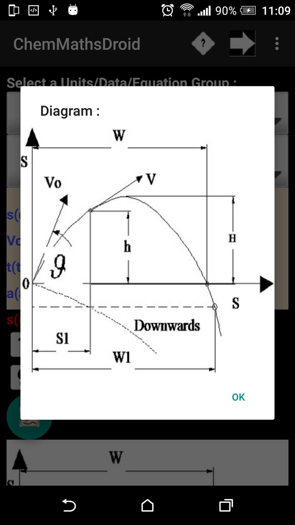 ChemMathsDroidfree Screenshot 5