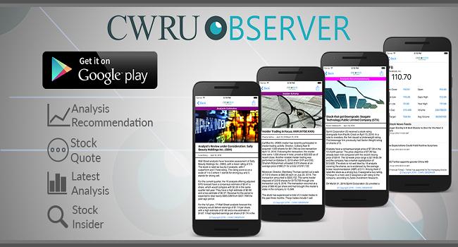 CWRU Observer (Financial News) Screenshot 3