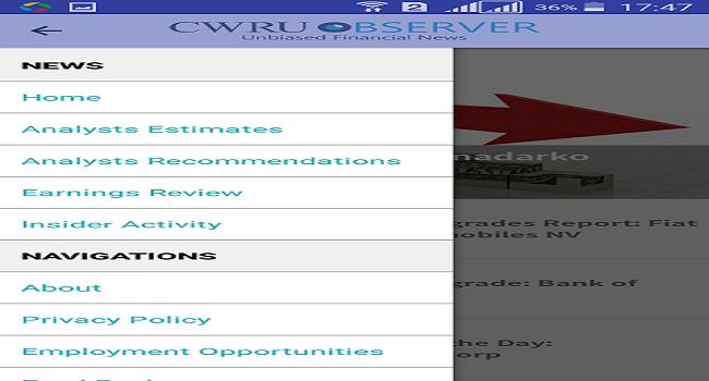CWRU Observer (Financial News) Screenshot 2
