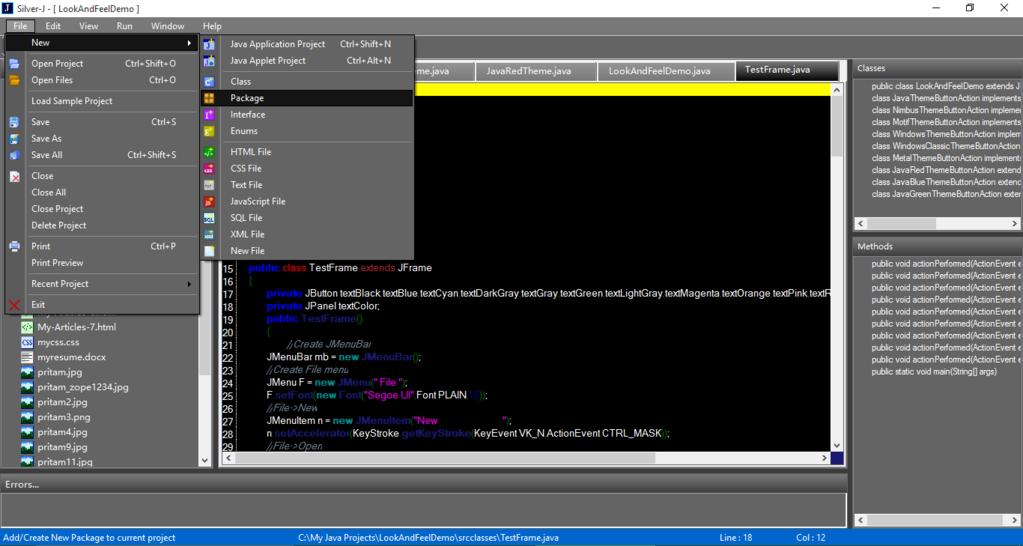 Silver-J Screenshot 5