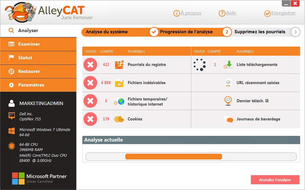 AlleyCAT Junk Remover Screenshot 5