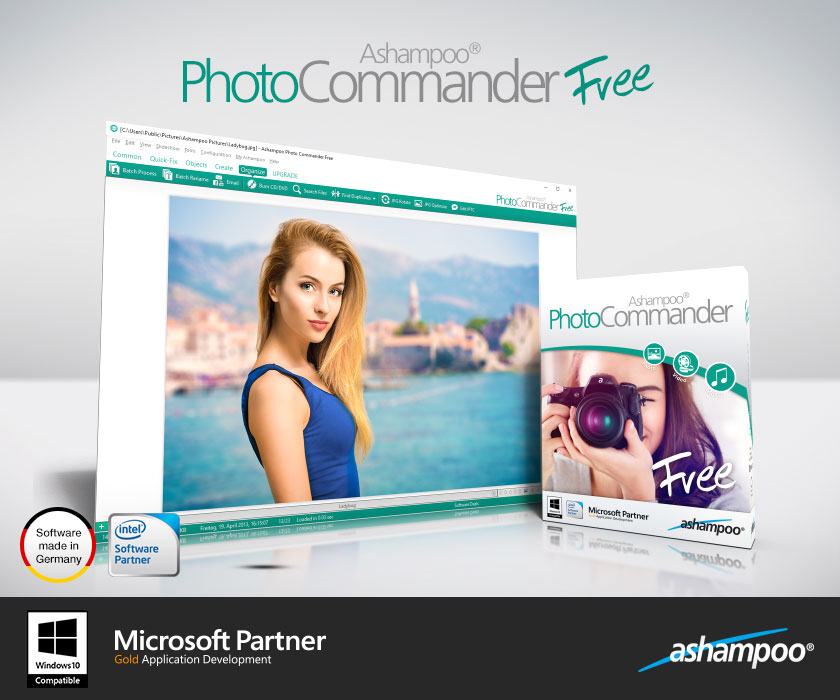 Ashampoo Photo Commander FREE Screenshot 1