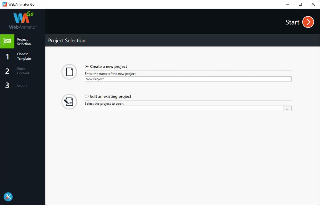 WebAnimator GO Screenshot