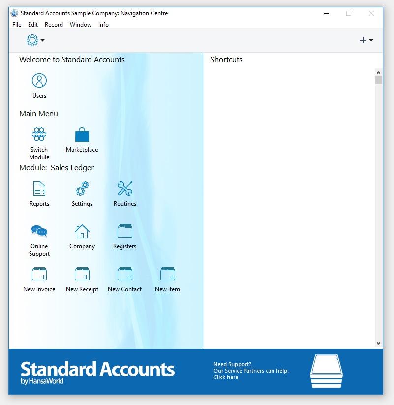 Standard Accounts Screenshot 7