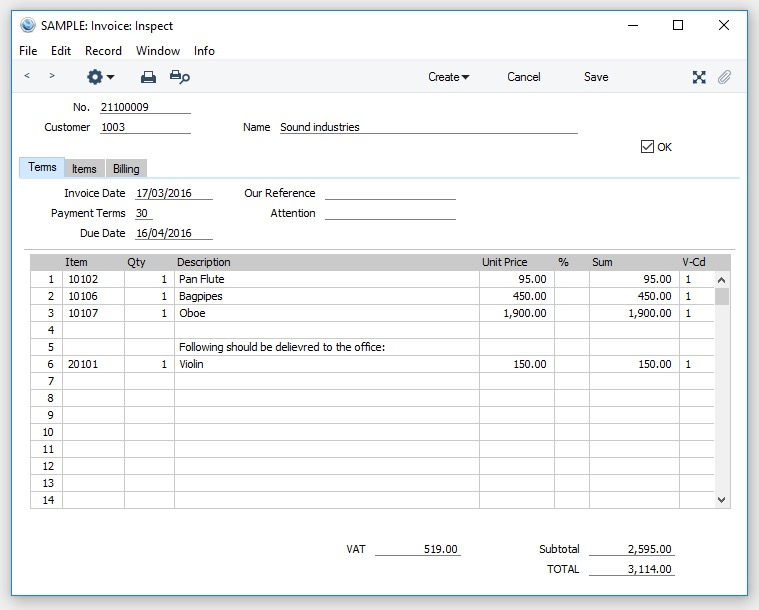 Standard Accounts Screenshot 10
