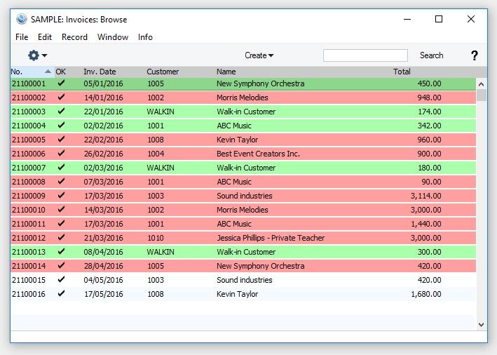 Standard Accounts Screenshot 9