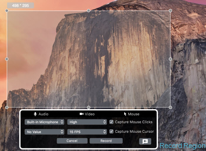 Screen Grabber Pro (Mac) Screenshot 3