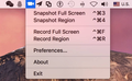 Screen Grabber Pro (Mac) 1