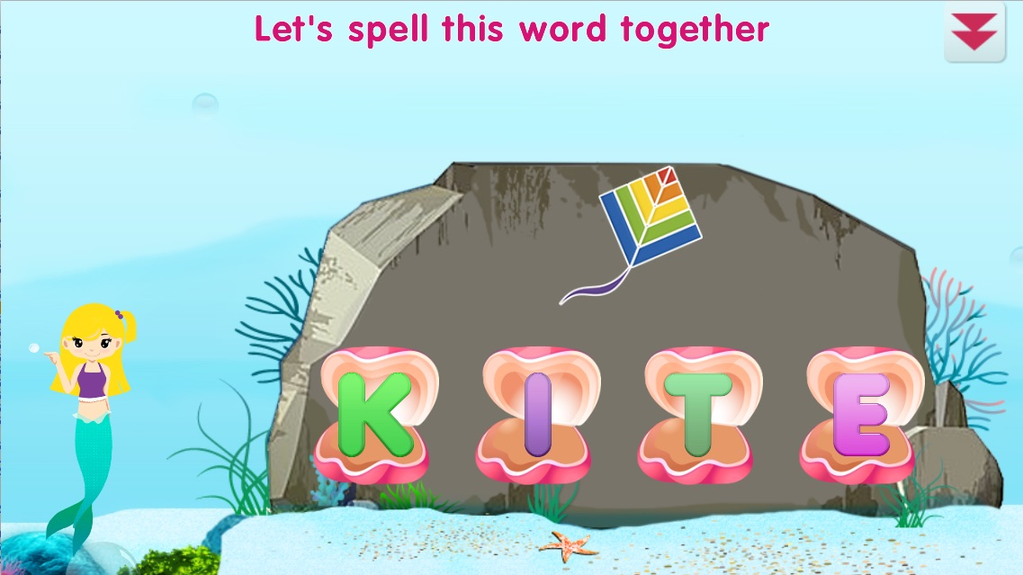 Mermaid Preschool Lessons Screenshot 1