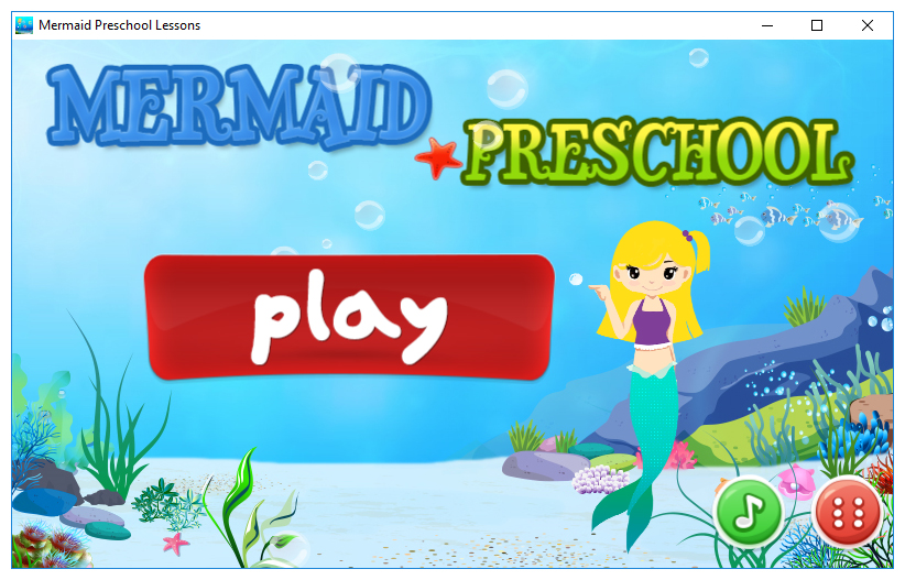 Mermaid Preschool Lessons Screenshot 2