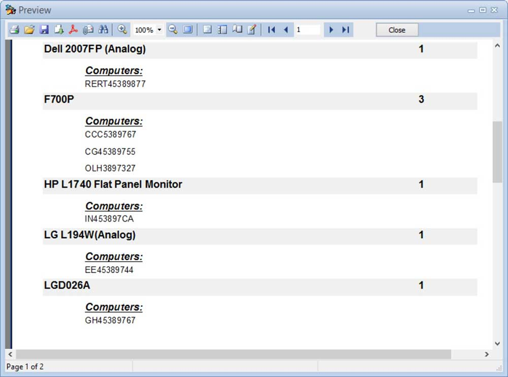 Expert Network Inventory Screenshot 2