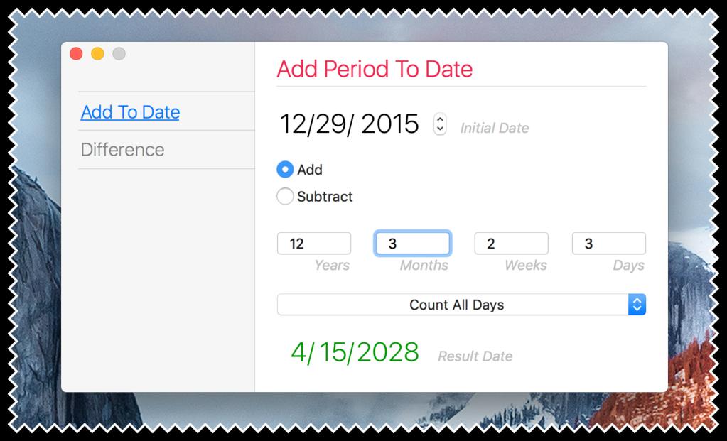 Plain Today Calendar Screenshot 2