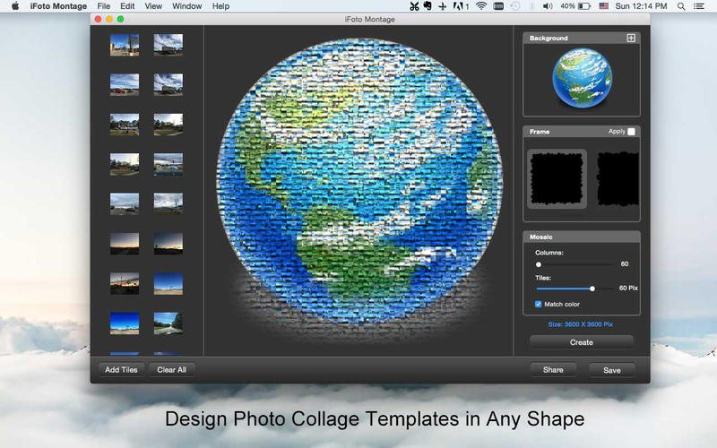 iFotosoft Photo Montage for Mac Screenshot 2