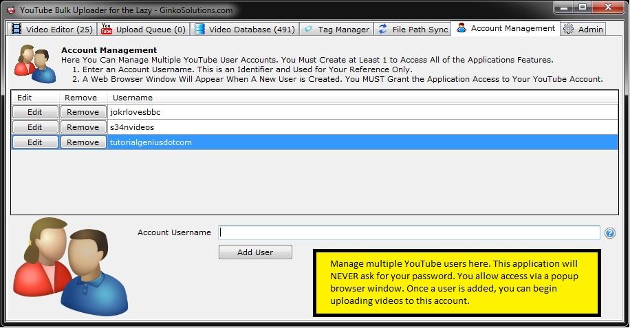 YouTube Bulk Uploader for the Lazy Screenshot 8