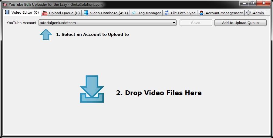 YouTube Bulk Uploader for the Lazy Screenshot 5