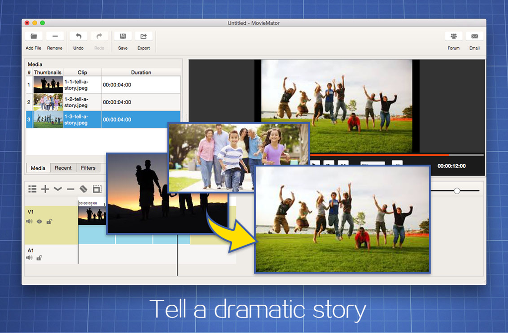 MovieMator Free Mac Video Editor Screenshot 2
