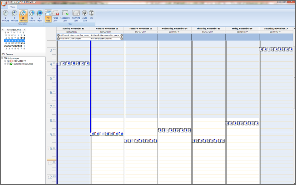 SQL Job Manager Screenshot
