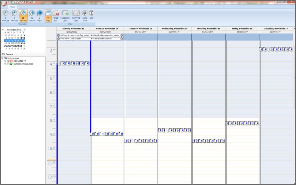 SQL Job Manager Screenshot 1