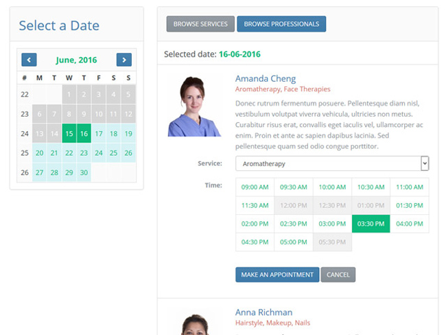 Appointment Scheduler Screenshot 10
