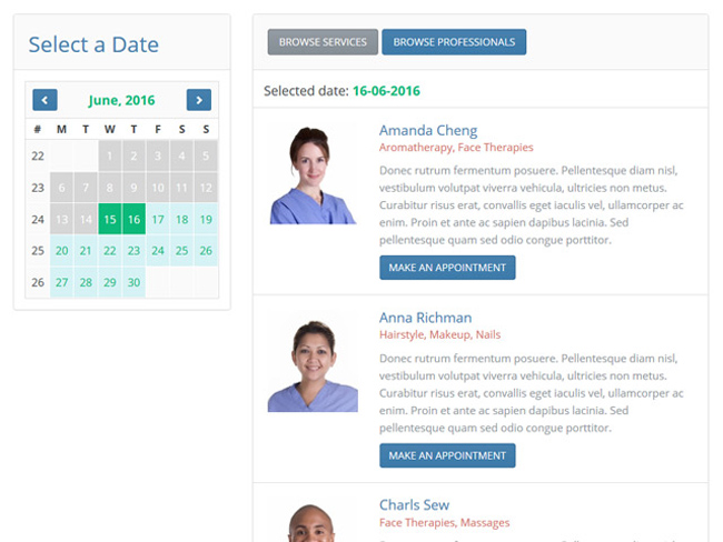 Appointment Scheduler Screenshot 9