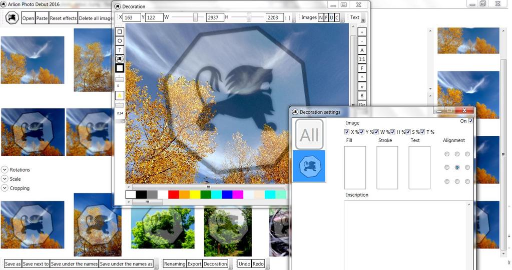 Arlion Photo Debut 2016 v1.2 Screenshot 6