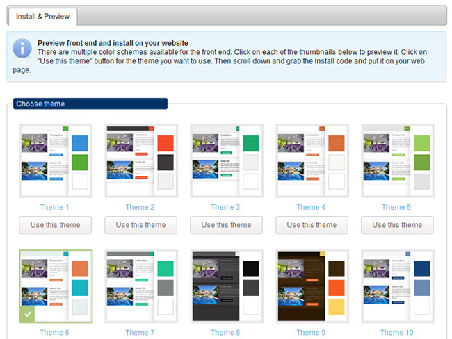 Shared Asset Booking System Screenshot 8