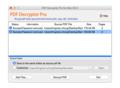 PDF Decrypter Pro for Mac OS X 1