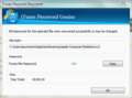 iSunshare iTunes Password Genius 3
