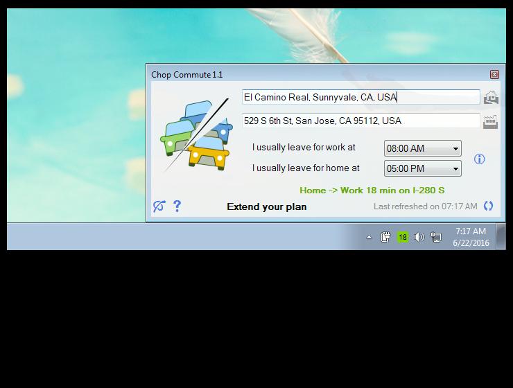 Chop Commute Screenshot 2