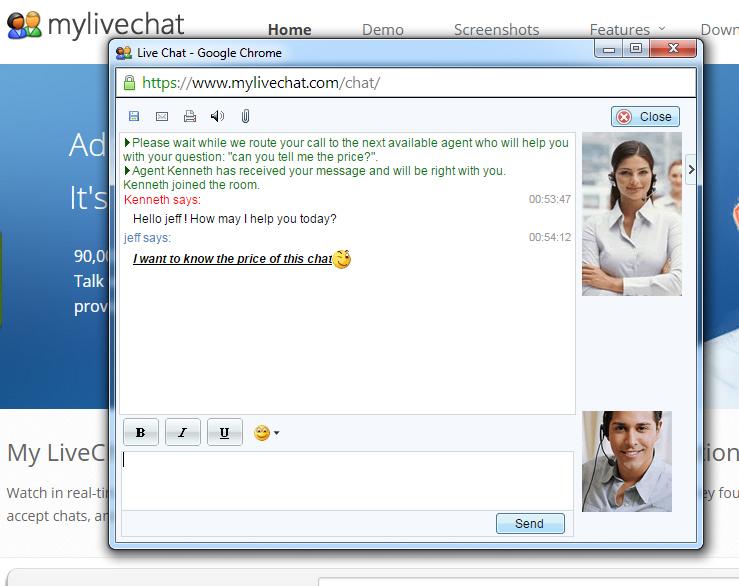 ZChat Enterprise Screenshot 3