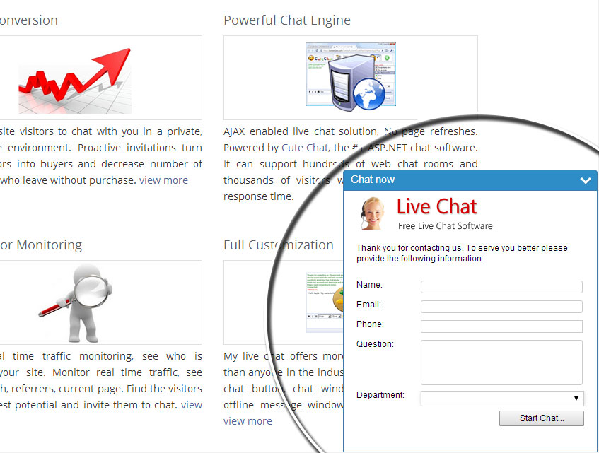 mylivechat Screenshot 9
