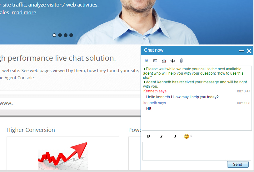 mylivechat Screenshot 5