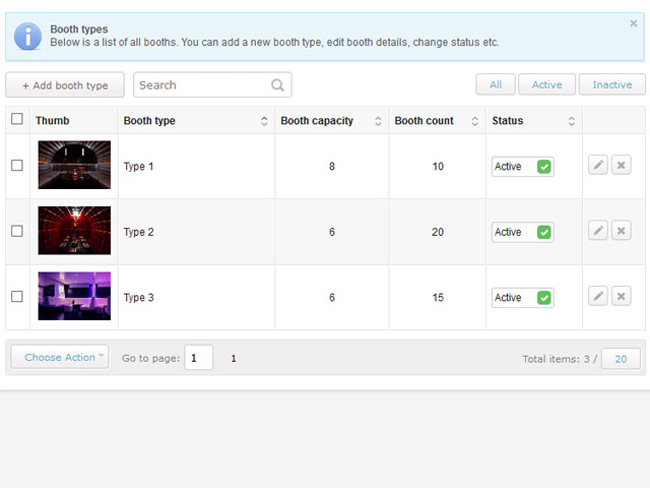 Night Club Booking Software Screenshot 7