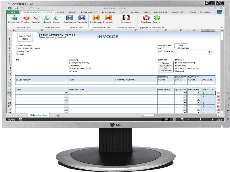Swift Invoice Screenshot 1
