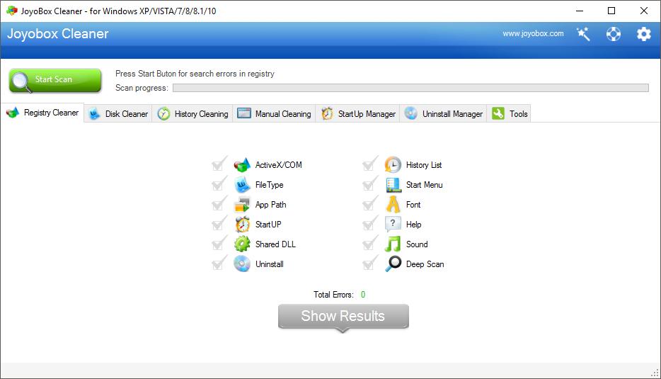 JoyoBox Cleaner Screenshot 1