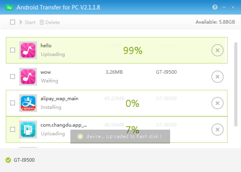Android Transfer for PC Screenshot