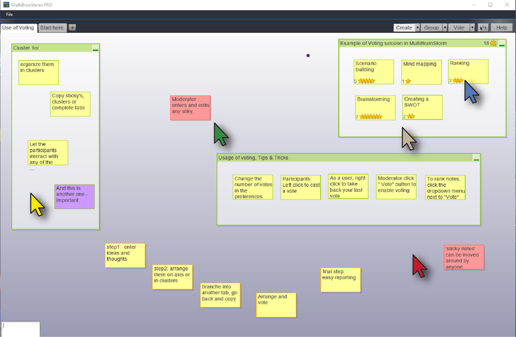 MultiBrainStorm PRO Screenshot 1