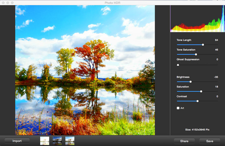 iFotosoft Photo HDR for Mac Screenshot 2