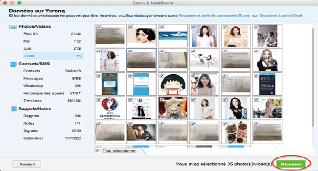EaseUS MobiSaver Free for Mac Screenshot 3