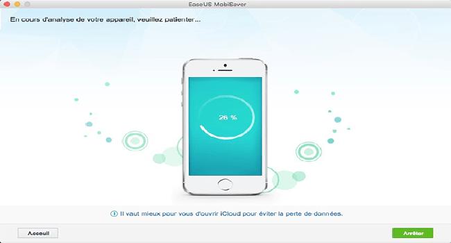 EaseUS MobiSaver Free for Mac Screenshot 2