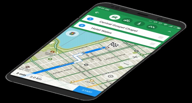 MAPS.ME for Android Screenshot 2