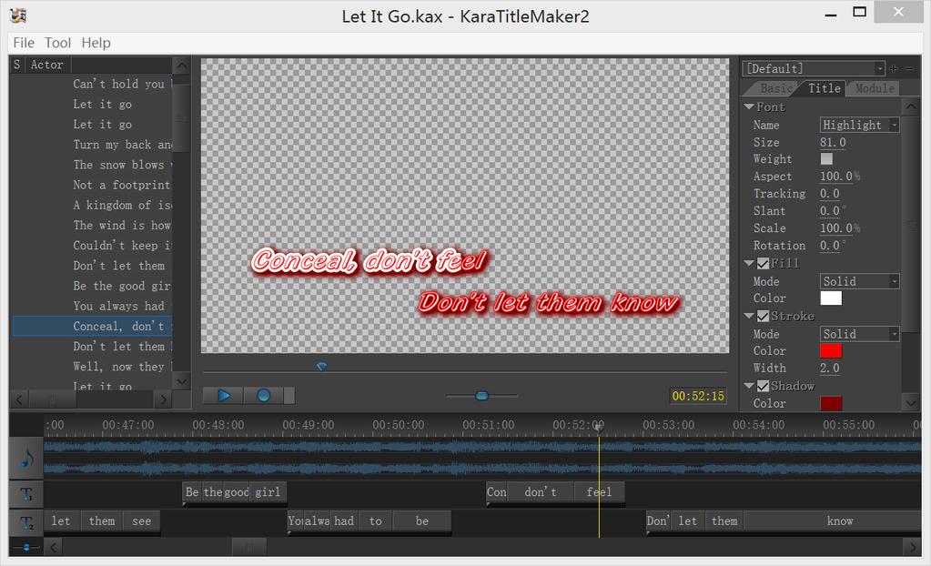 Sayatoo KaraTitleMaker2 Screenshot 3