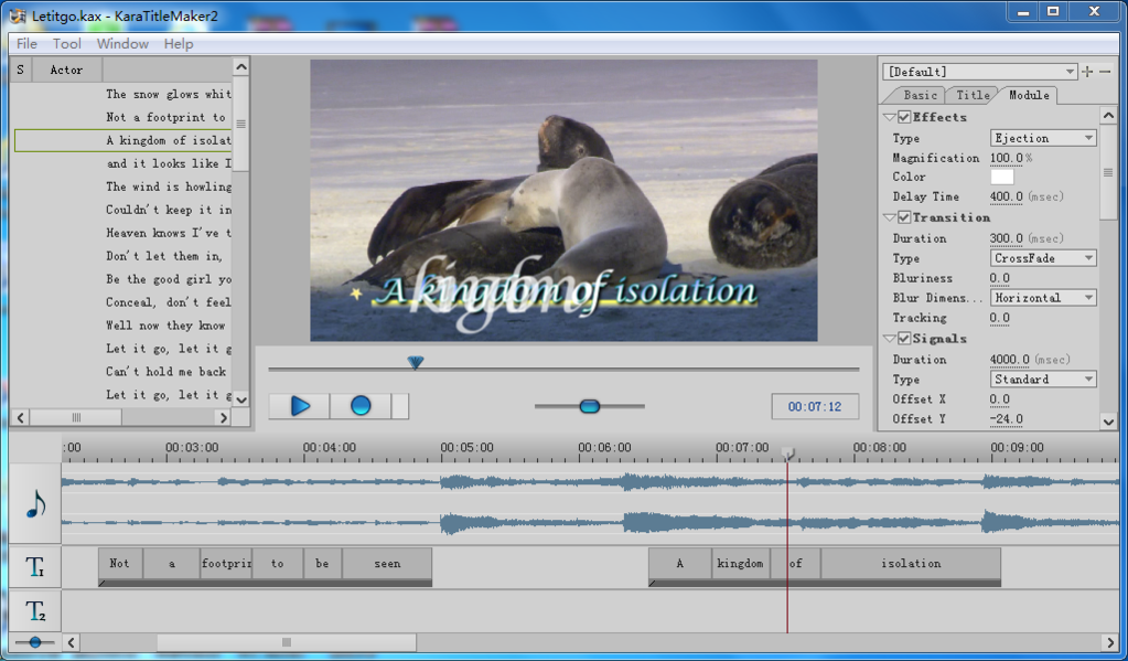 Sayatoo KaraTitleMaker2 Screenshot 2