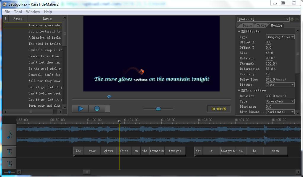 Sayatoo KaraTitleMaker2 Screenshot 6