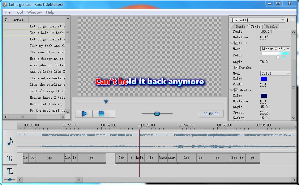 Sayatoo KaraTitleMaker2 Screenshot 5