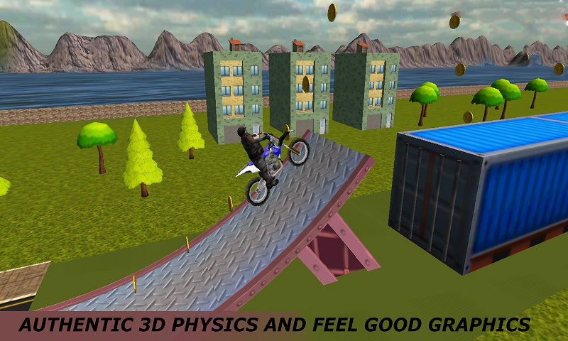 Motocross Extreme Stunts Screenshot 1