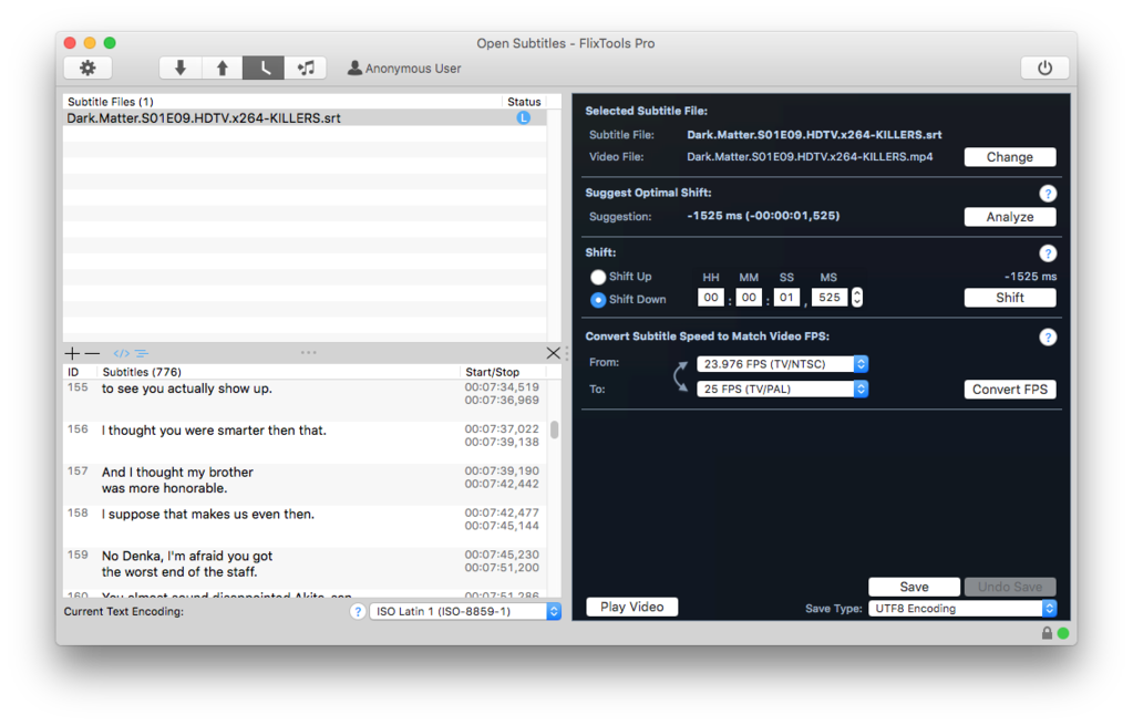 Open Subtitles FlixTools Pro Screenshot 4